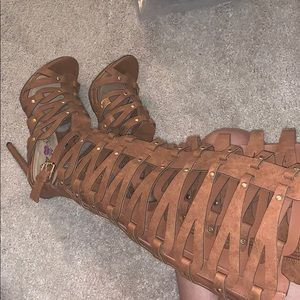 Shoes - Thigh high heels